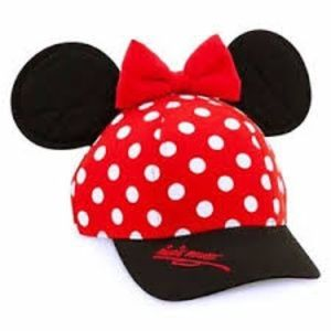 LIKE NEW  Official Minnie Mouse Hat w/Ears